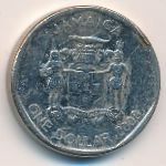 Ямайка, 1 доллар (2008–2018 г.)