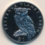 Эритрея, 1 доллар (1995 г.)