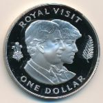Новая Зеландия, 1 доллар (1983 г.)