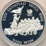 Южная Корея, 5000 вон (1986 г.)