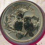 Тувалу, 1 доллар (2014 г.)