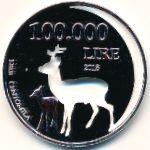 Кампионе-д'Италия, 100000 лир (2018 г.)