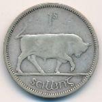 Ирландия, 1 шиллинг (1940 г.)