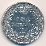 Великобритания, 1 шиллинг (1885 г.)