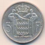 Монако, 5 франков (1966 г.)