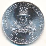 Австралия, 10 долларов (1986 г.)