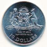Австралия, 10 долларов (1987 г.)
