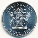 Австралия, 10 долларов (1989 г.)
