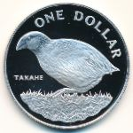 Новая Зеландия, 1 доллар (1982 г.)