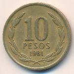Чили, 10 песо (1981 г.)