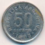 Аргентина, 50 сентаво (1953 г.)