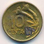 Перу, 10 сентаво (1969 г.)