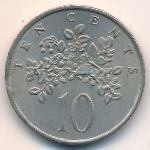 Ямайка, 10 центов (1969 г.)