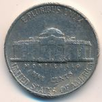 США, 5 центов (1961–1989 г.)