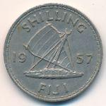 Фиджи, 1 шиллинг (1957–1965 г.)