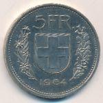 Швейцария, 5 франков (1984 г.)