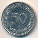 ФРГ, 50 пфеннигов (1990 г.)