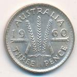 Австралия, 3 пенса (1960 г.)