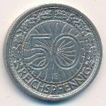 Веймарская республика, 50 рейхспфеннигов (1928 г.)
