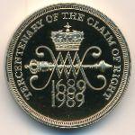 Великобритания, 2 фунта (1989 г.)