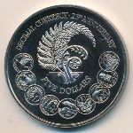 Новая Зеландия, 5 долларов (1992 г.)