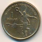 Австралия, 1 доллар (2005 г.)