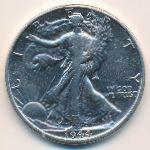 США, 1/2 доллара (1944 г.)