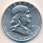 США, 1/2 доллара (1959 г.)