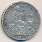 Перу, 1 соль (1894 г.)