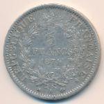 Франция, 5 франков (1874 г.)