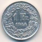 Швейцария, 1 франк (1944 г.)
