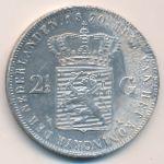 Нидерланды, 2 1/2 гульдена (1870 г.)