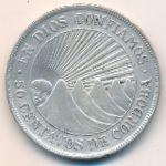 Никарагуа, 50 сентаво (1912 г.)