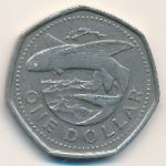 Барбадос, 1 доллар (1988 г.)