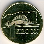 Estonia, 1 kroon, 1999