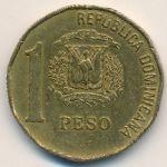 Доминиканская республика, 1 песо (1992 г.)