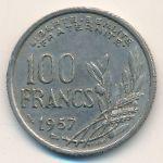 Франция, 100 франков (1957 г.)