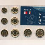Мальта, Набор монет (2008 г.)