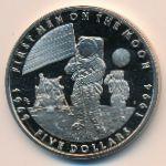 Маршалловы острова, 5 долларов (1994 г.)