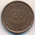 Ангола, 20 сентаво (1948 г.)