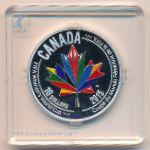 Канада, 10 долларов (2015 г.)