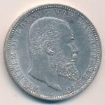 Вюртемберг, 5 марок (1913 г.)