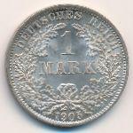 Германия, 1 марка (1905 г.)