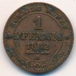 Саксония, 1 пфенниг (1862 г.)