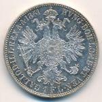 Австрия, 1 флорин (1861 г.)