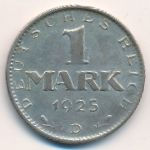 Веймарская республика, 1 марка (1925 г.)