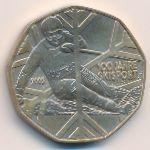 Австрия, 5 евро (2005 г.)