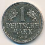 ФРГ, 1 марка (1989 г.)
