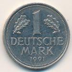 ФРГ, 1 марка (1991 г.)