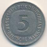 ФРГ, 5 марок (1977 г.)